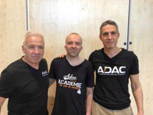 Jérémie Blanc, Robert Paturel et Eric Quequet
